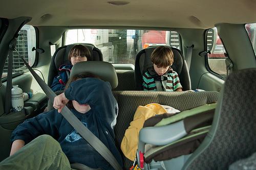 Full minivan....