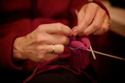 Karen Knitting