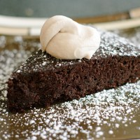 Black Bean Chocolate cake (Gluten Free)