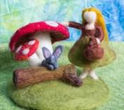 Mushroom Gatherer