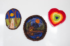 Needle Felted Magnets