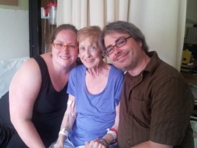 Grandmaman with Simon and I