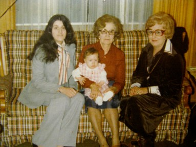 Four generations (I am the baby)