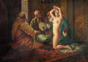 History of Belly Dancing making the sale eduard ansen hofmann