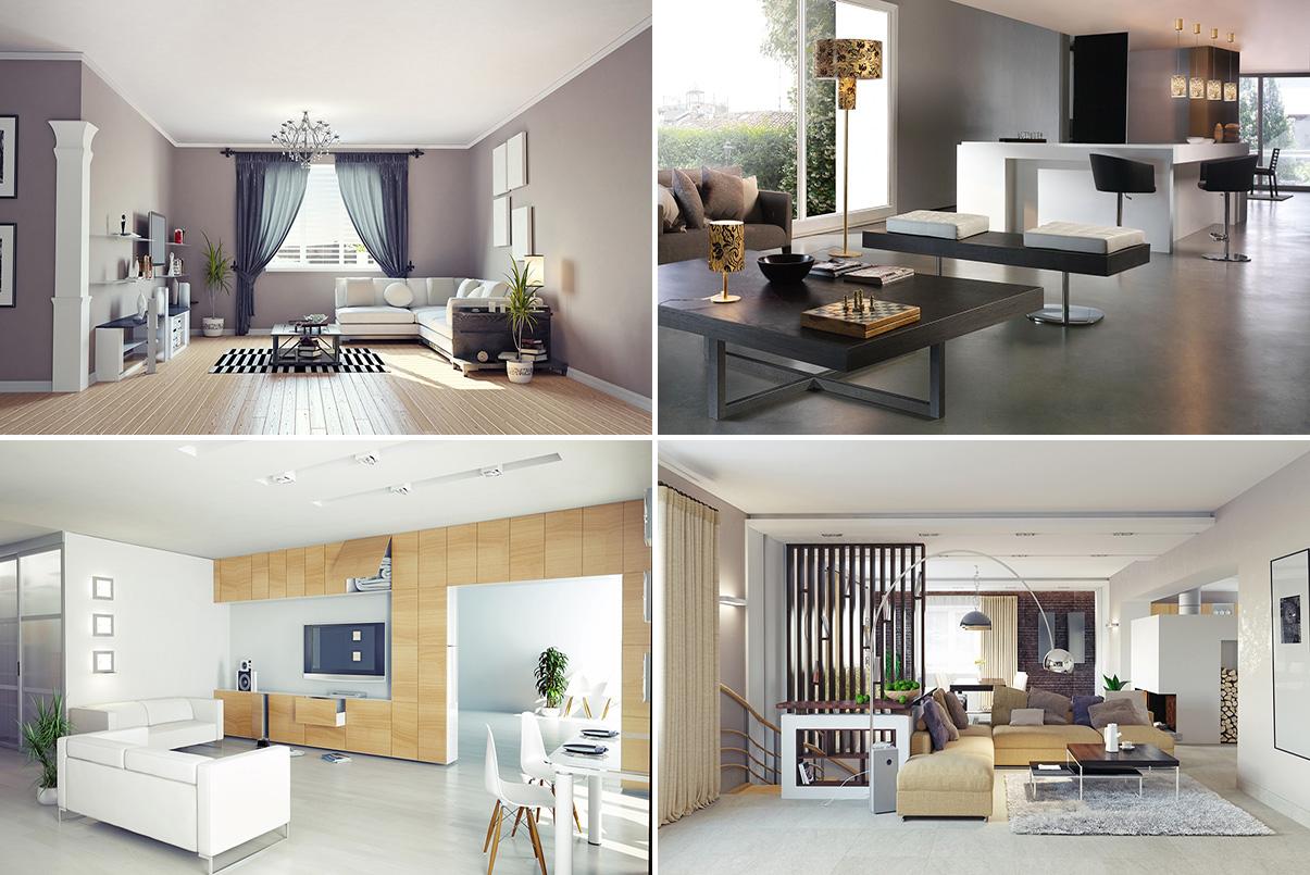 Desain Interior Ruang Keluarga Minimalis Sederhana  Jasa