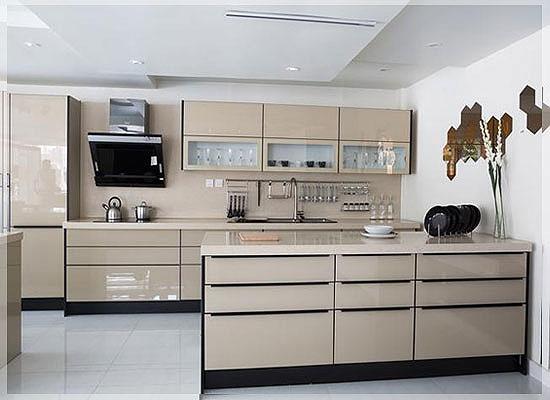 Desain Interior Kitchen Set Minimalis Modern Untuk Dapur