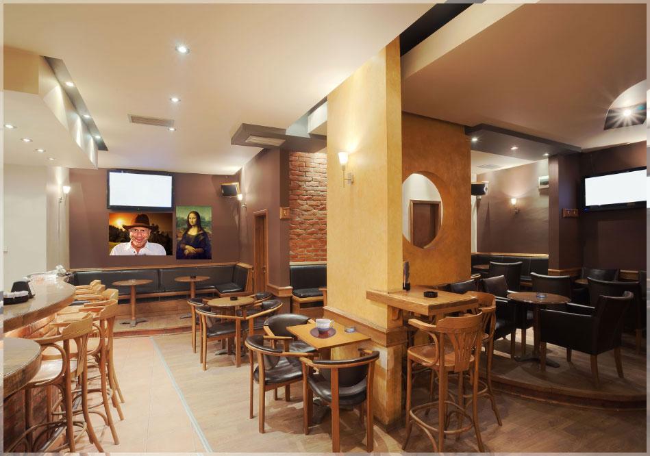 Desain Kursi Cafe Modern