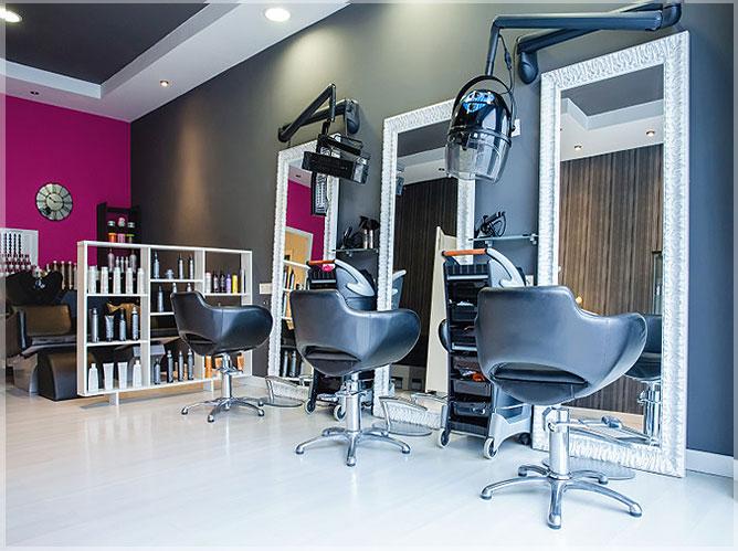 Desain Interior Salon Minimalis Modern Sederhana  Jasa