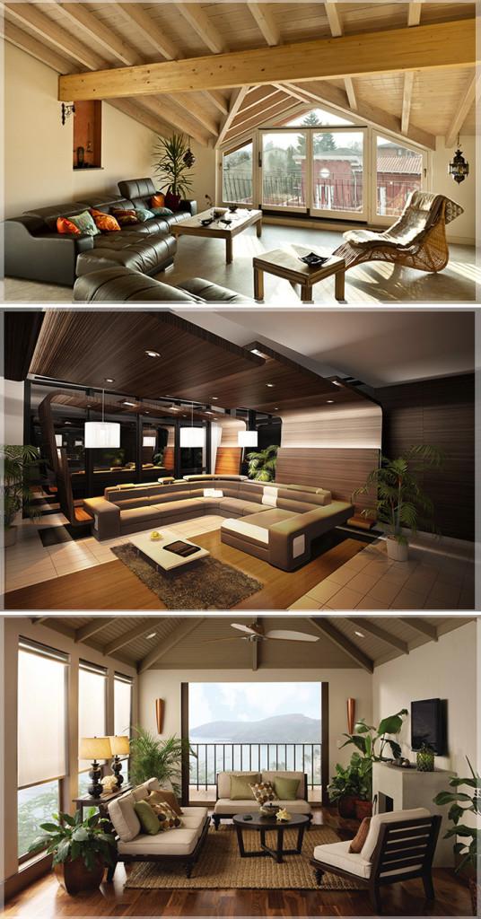 Desain Interior Rumah Kayu  Jasa Desain Interior Rumah  Apartemen  Kantor  Design Interior