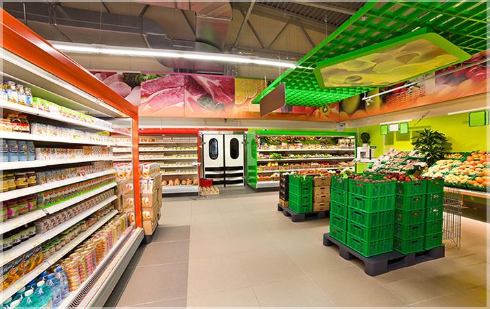 Desain Interior Minimarket Minimalis Sederhana nan Unik