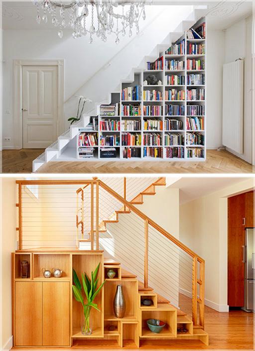 Ide Desain Interior Bawah Tangga  Design Bawah Tangga