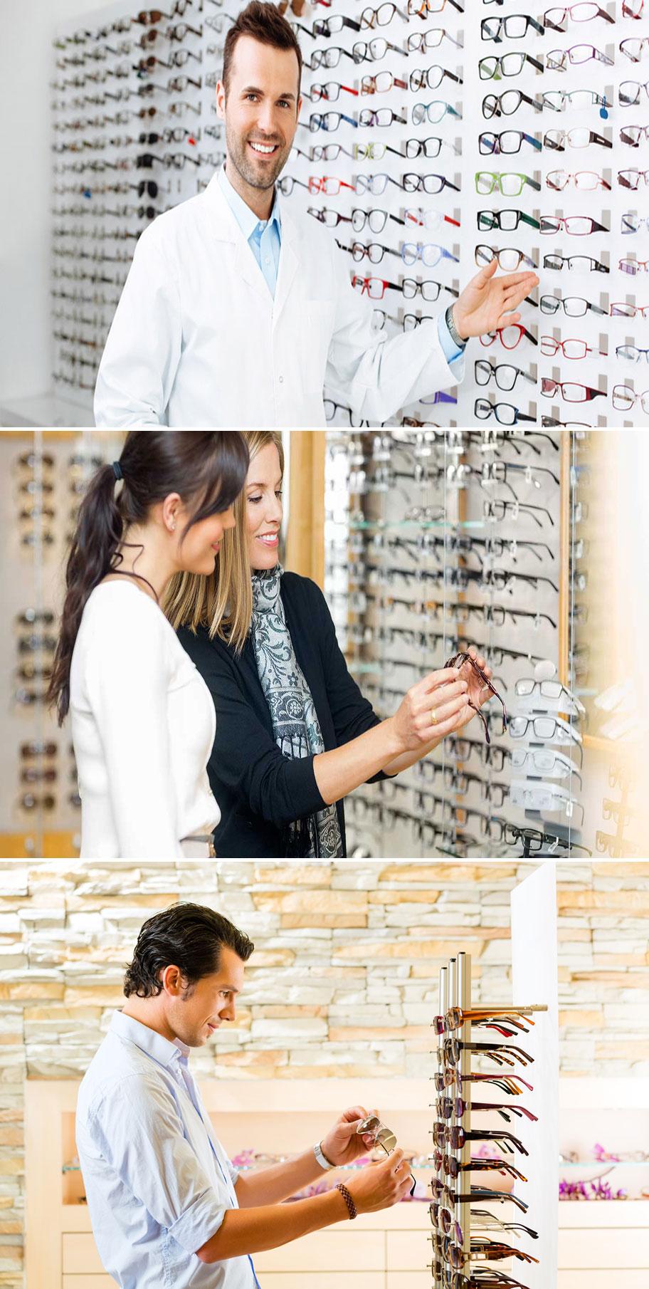 Jasa Desain Interior Etalase Optik Kacamata  Jasa Desain