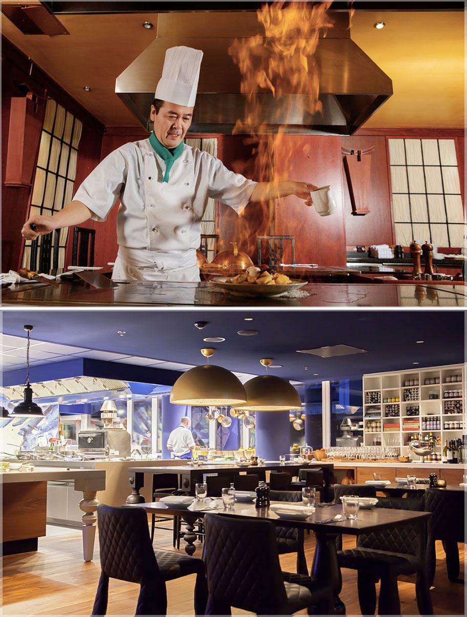 Desain Dapur Rumah Makan atau Restoran Konsep Modern