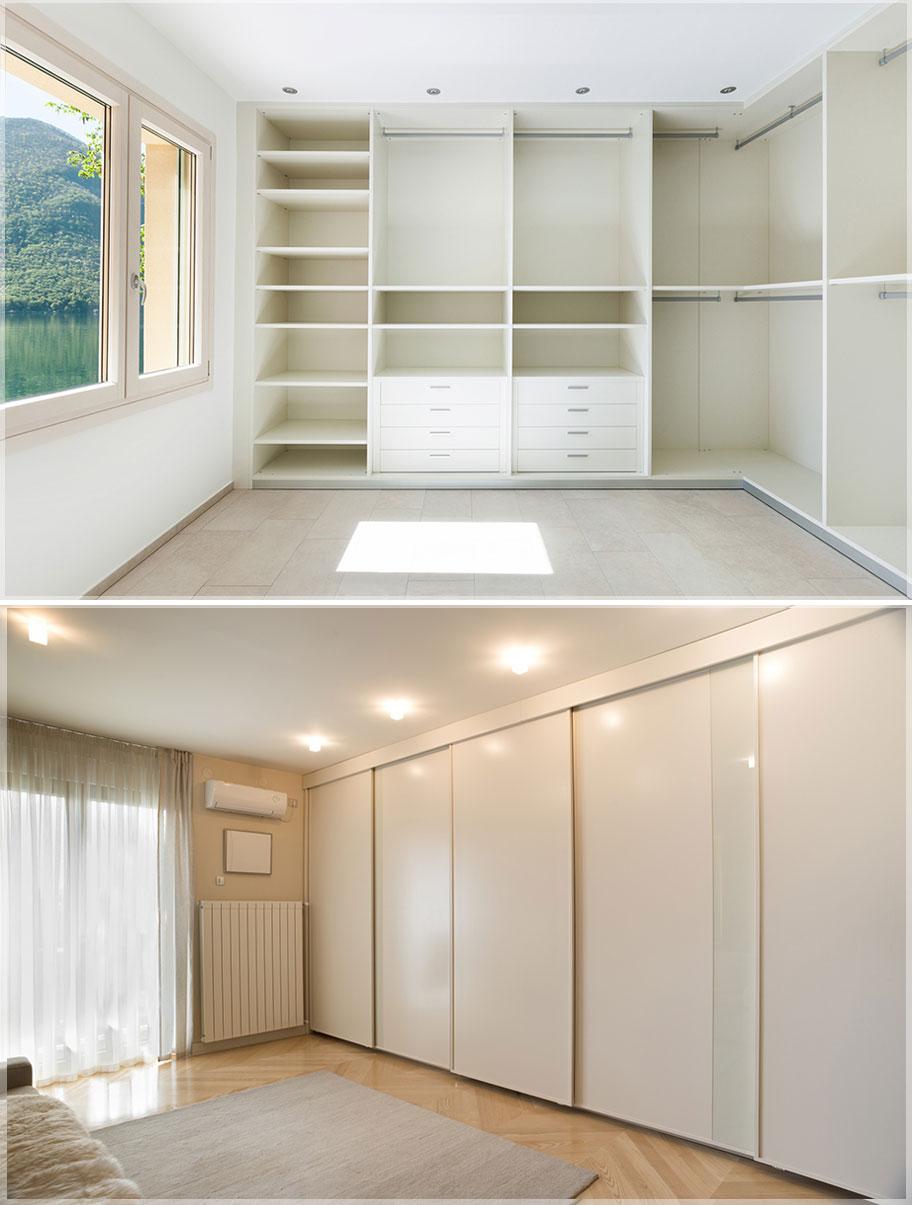 Desain Lemari Pakaian  Rak Baju Minimalis Modern  Jasa Desain Interior Rumah  Apartemen