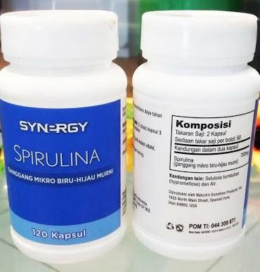 manfaat spirulina caradiet