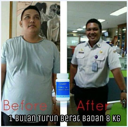 testimoni diet spirulina turun 8 kg
