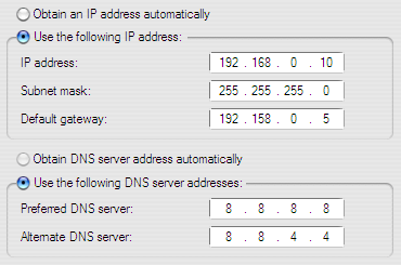 Cara Setting IP LAN 2 Komputer - Secondary