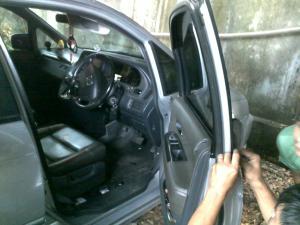 Kunci Pintu Honda Odyssey, Honda Odyssey terkunci