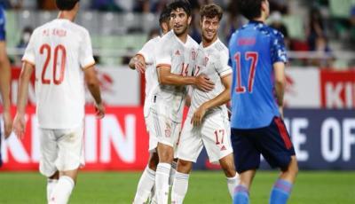 مدرب إسبانيا: مصر نجحت في لعب مباراتها