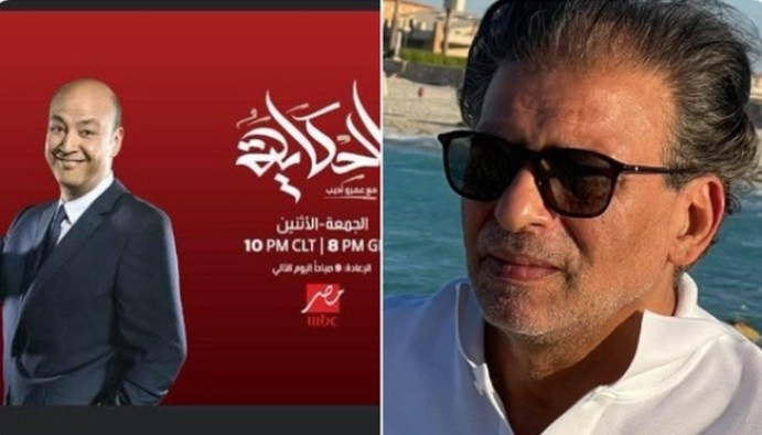 خالد يوسف ضيف برنامج الحكاية مع عمرو أديب في أول لقاء تلفزيوني بعد العودة للقاهرة