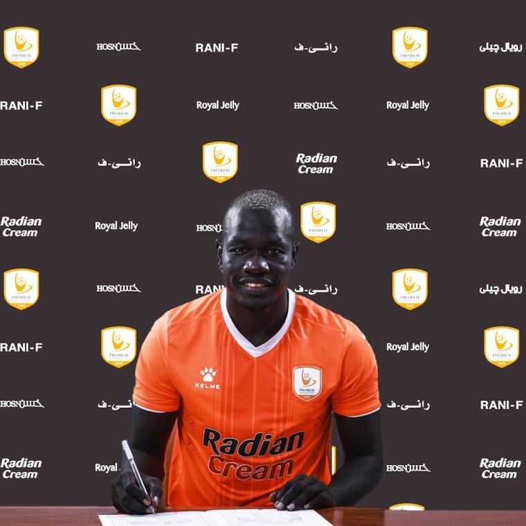نادي فاركو يعلن التعاقد مع السوداني سيف تيري لمدة ثلاث مواسم