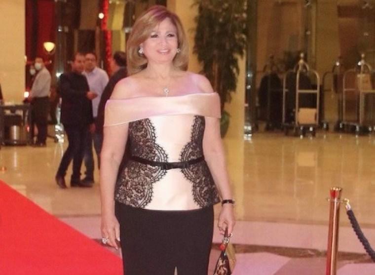 تكريم إلهام شاهين في حفل مهرجان الفضائيات العربية