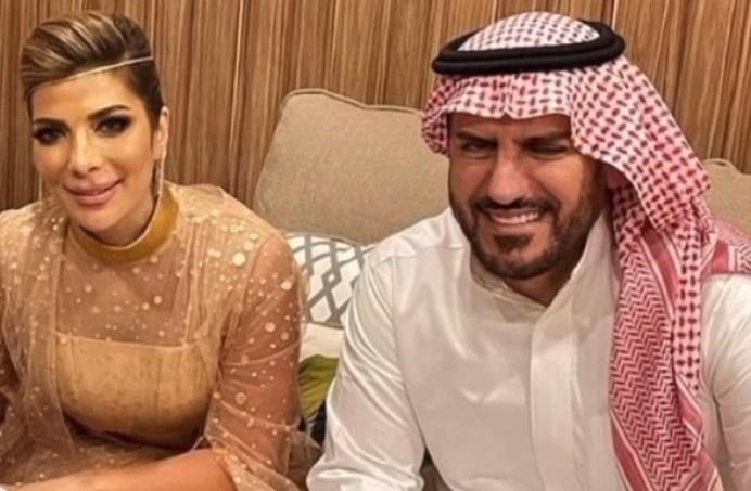 أصالة نصري وفائق حسن بعد عقد قرانهما في أول صورة رسمية