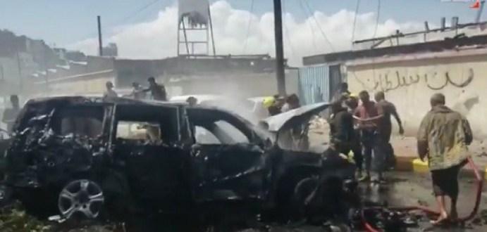 نجاة محافظ عدن ومقتل قائد الحراسة والسكرتير في تفجير سيارة مفخخة