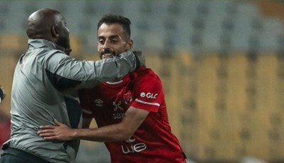 تعليق أحمد عبد القادر بعد هدفه الأول مع الأهلي