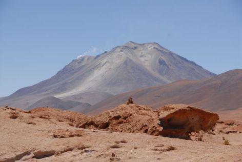 Volcán Ollagüe 5870m