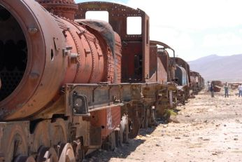 Cementerio del trenes
