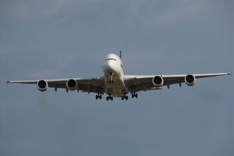 A380 in Zürich