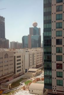 View from Novotel
