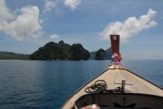 Northern part of Phi Phi Don