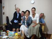 Con Tatiana, Astrid y Jorge