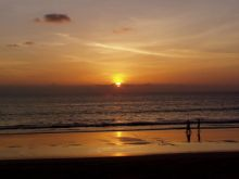 Bang Niang Beach Sunset