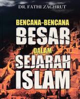 Mengenal Buku Bencana-Bencana Besar Dalam Sejarah Islam