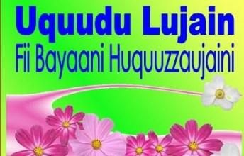 Kitab Uqudul Lujain Syeikh Nawawi Banten