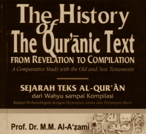 Sejarah Teks Alquran Karya Mustafa Azami