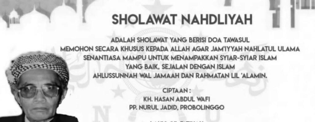 Lirik Sholawat nahdliyah Latin Dan Artinya