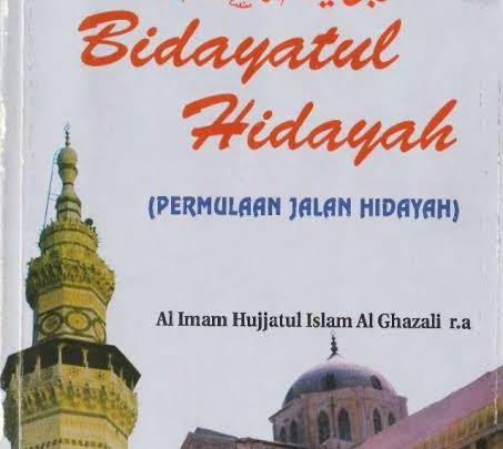 Kumpulan Doa Harian Kitab Bidayatul Hidayah