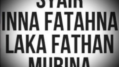 Sholawat Inna Fatahna laka Fathan mubina