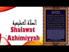 Bacaan Sholawat Adzimiyah Lengkap