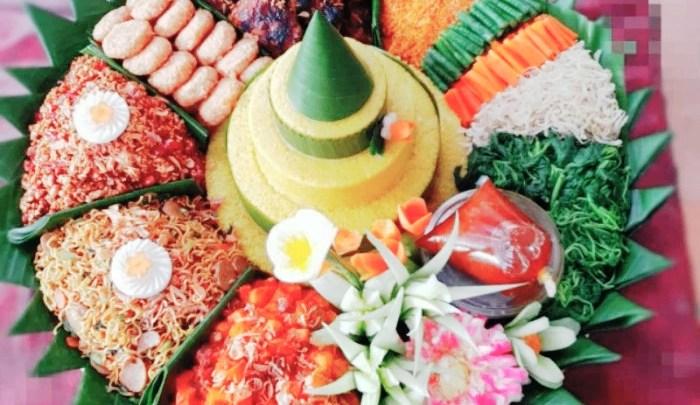 Lauk Nasi Tumpeng Ulang Tahun Dan 17 Agustusan