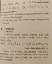 Bacaan Bait Nadhom Uqudul Juman Berharakat