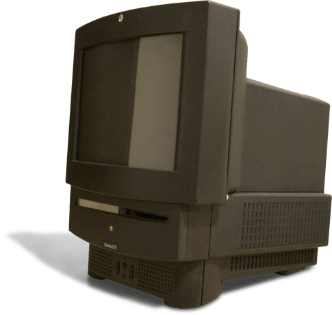 The Macintosh TV - released in 1993 - was an ill-fated attempt to combine the increasingly popular home computer market with a traditional television. It came with a CD-drive and a TV tuner card, and was one of the only Macs ever produced in black. Ultimately, however, it did not prove popular, largely because users couldn't switch easily between watching television and other programmes. Only 10,000 were made.