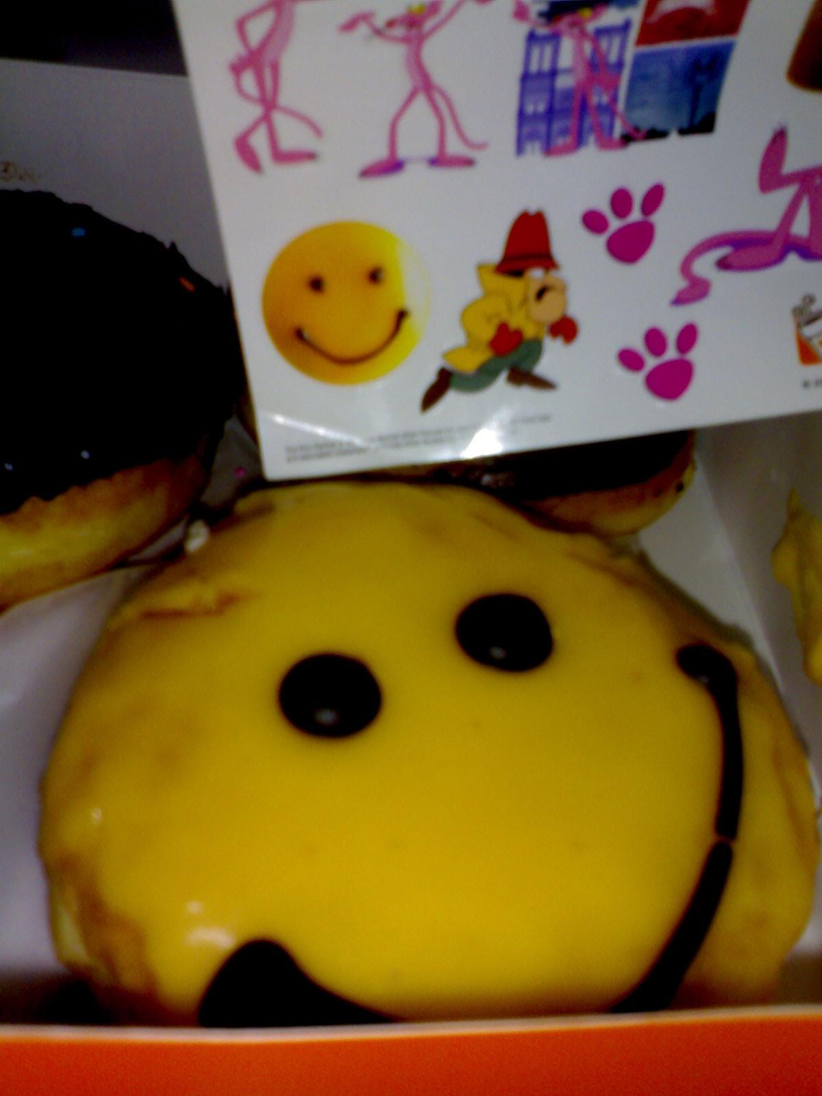 Happy Donut and Sticker