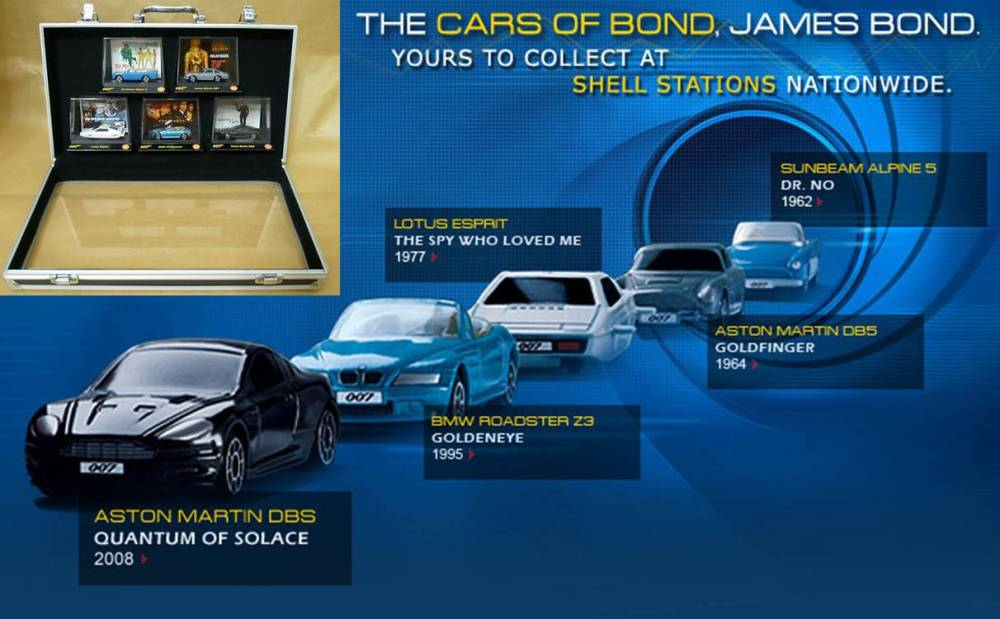 James Bond's Car Collection