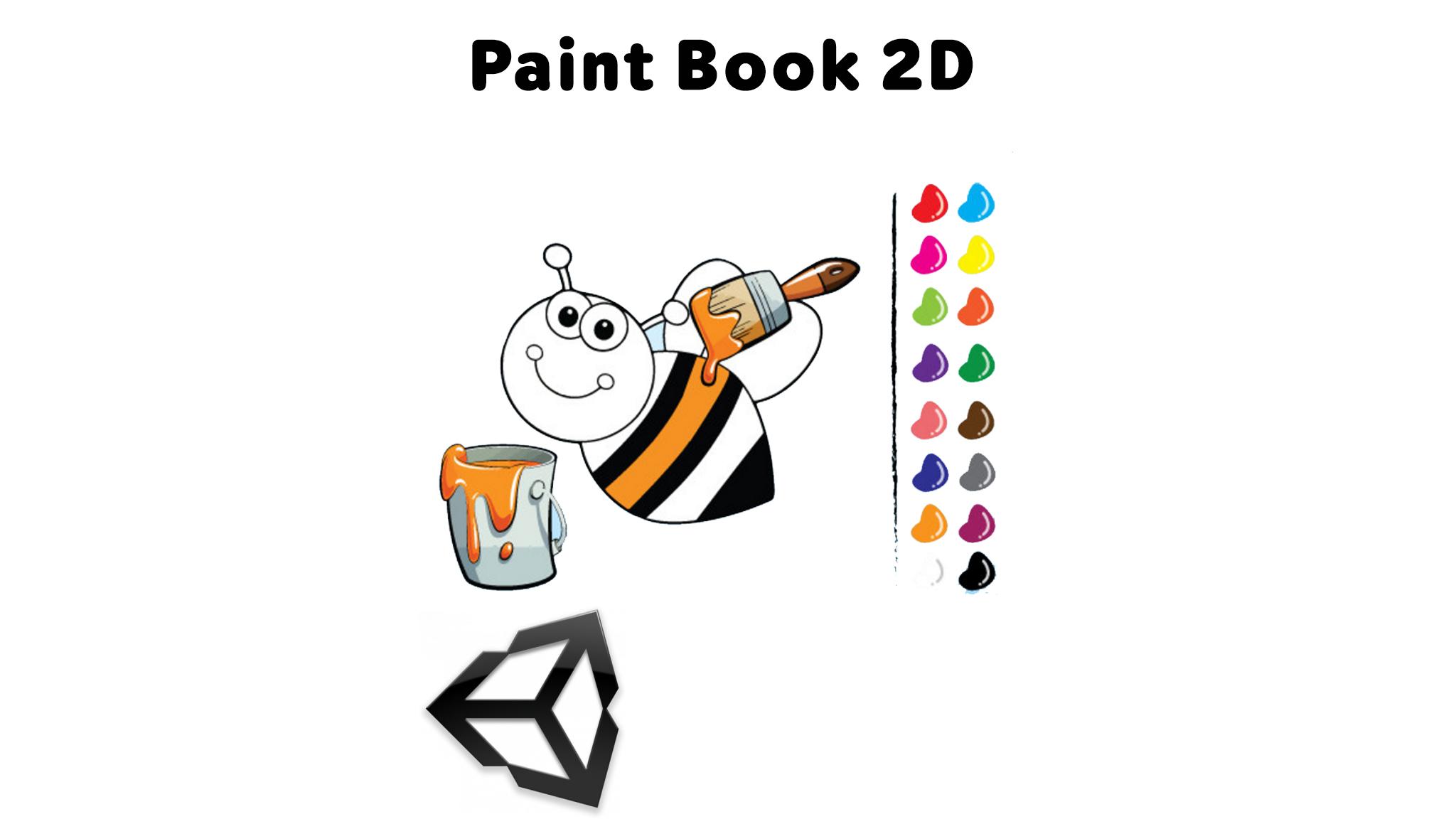 Paint Book 2D Unity Project
