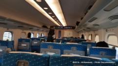 Onboard Shinkansen N700A Series